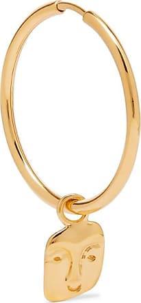 Maria Black Friend Gold-plated Earring