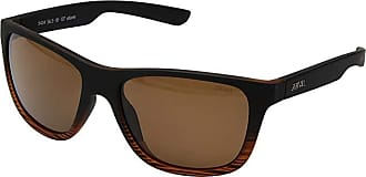 Zeal Optics Radium (Torched Woodgrain w/ Polarized Copper Lens) Athletic Performance Sport Sunglasses