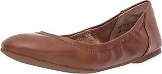 Amazon Essentials Womens Ballet Flat, Tan, 6.5 B US
