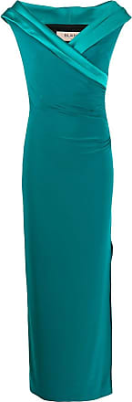 Blanca fitted evening dress - Verde