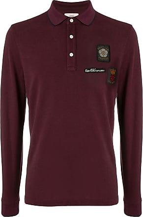 Kent & Curwen crest embroidered rugby shirt