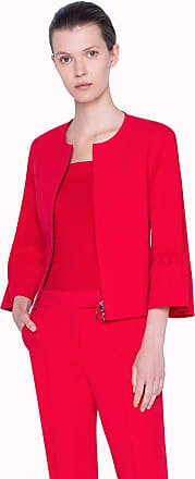 Akris Jacket with Bell Shaped Sleeves