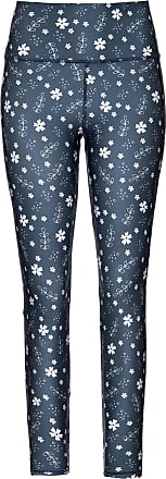 We Fit Store Calça Legging Anastasia Floral - Mulher - Azul - GG BR
