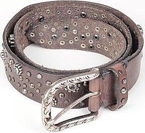 Arsenico Cintura in Pelle Effetto Vintage con Borchie 35mm taglia 80