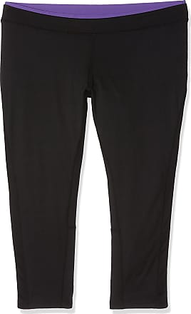 Result Womens S273F Sports Tights, Black (Black/Lavender), W40 (Size: XX-Large)