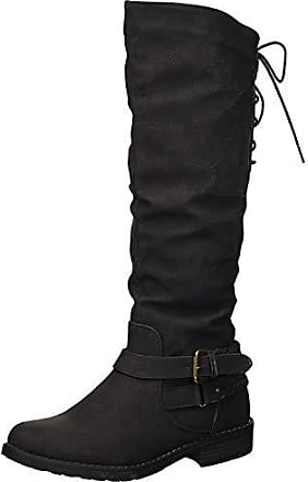 xoxo Womens Middleton Fashion Boot, Black, 10 M US