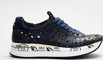 Premiata sneaker laserata - blu