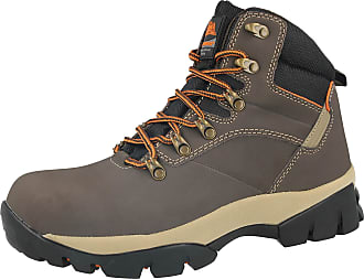 MENS GROUNDWORK LIGHTWEIGHT STEEL TOE CAP SAFETY WORK BOOTS HIKING TRAINERS SIZE