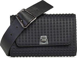 MQaccessories Small Belt Bag In Techno Trapezoid Fabric