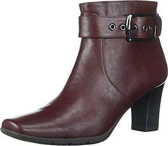 Aerosoles A2 Womens Monorail Ankle Boot, Wine, 7.5 M US