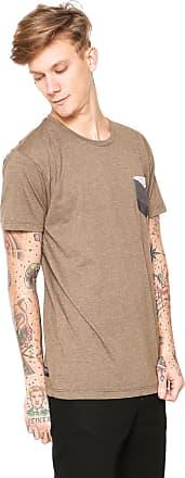 Billabong Camiseta Billabong Team Pocket I Marrom