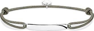 Thomas Sabo Thomas Sabo Engravable bracelet grey LS057-173-5-L22V