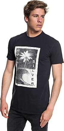 Quiksilver Destroyed Reality - T-Shirt - Men - M - Black