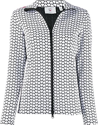 Rossignol Print Hiver zipped jacket - White