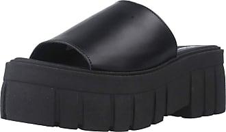 Yellow Women Sandals and Slippers Women Pneumatic Black 5.5 UK