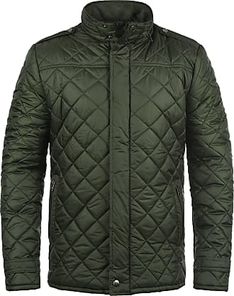 Solid Safi Mens Quilted Jacket Puffer Jacket Padded Jacket with Funnel Neck, Size:M, Colour:Rosin (3400)