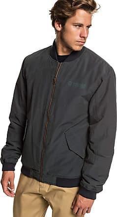 Quiksilver Rock It - Bomber Jacket - Men - L - Black