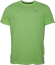 Under Armour fitted short sleeve running top with HG HeatGear and UA Threadborne technology. 1271823-752