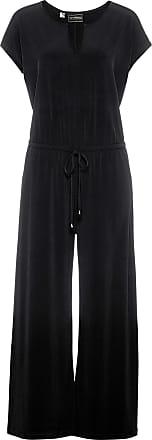 Bonprix Jersey-Jumpsuit ohne Ärmel schwarz, bonprix