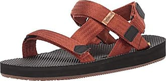Freewaters Mens Supreem Sport Cage Sandal w/Universal Fit 4-Pt Strap-in Closure w/Arch Support, Copper 10 Medium US