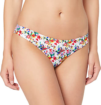 Pour Moi? Womens Heatwave Brief Bikini Bottoms, Multicolour (Sunrise Sunrise), (Size:14)