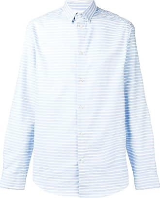 Natural Selection Camisa listrada Slate - Azul