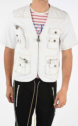 GCDS Denim Short Sleeve Jacket size Xl