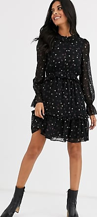 & Other Stories mini flippy dress in small flower print-Multi