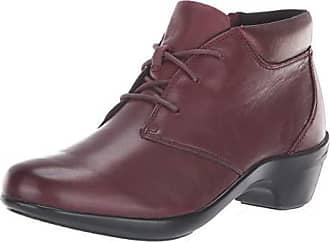 78fdc1c42f26d New Balance Womens KITT Chukka Boot, Maroon Leather, 6.5 B US