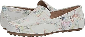 Aerosoles Womens Over Drive Loafer, White Floral, 5.5 M US