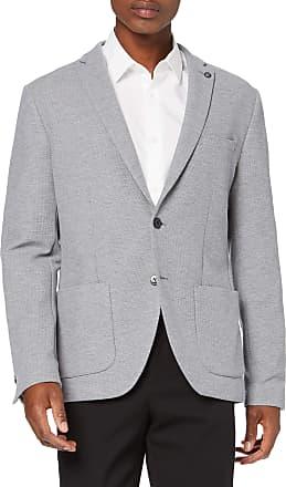 Selected Homme Mens Slhslim-hiken Blazer B Noos, Grey (Light Grey Melange Light Grey Melange), 26 (Size: 52)