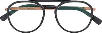 Mykita Armação de óculos aviador Willow - Preto