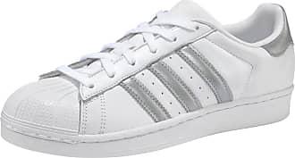 adidas Sneaker Superstar silbergrau / weiß