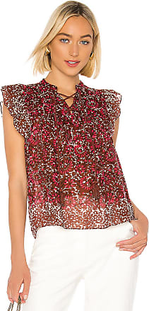 Ulla Johnson Opal Top in Red