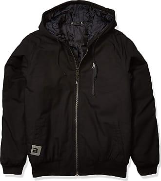 Wrangler mens3W178BLBUtility Hooded Jacket Outerwear - black - 3X