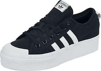 adidas Nizza Platform W - Sneaker - schwarz|weiß