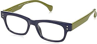 Peepers Unisex-Adult Hastag 2152300 Rectangular Reading Glasses, Blue/Green