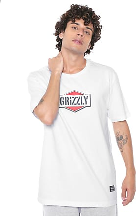 Grizzly Camiseta Grizzly Family Branca