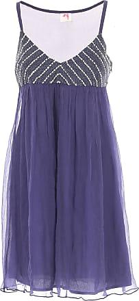 aabfea7d107818 Twin-Set Kleid für Damen Günstig im Outlet Sale, Indigo Blau, Viskose,