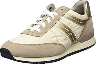 aef734bd175994 HUGO BOSS Hugo Adreny Sneakers voor dames - beige (natural), maat: 38
