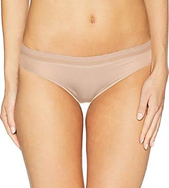 68f549cd634 OnGossamer Womens Intimate Apparel Next to Nothing Micro Hip Bikini Panty,  Champagne, Small