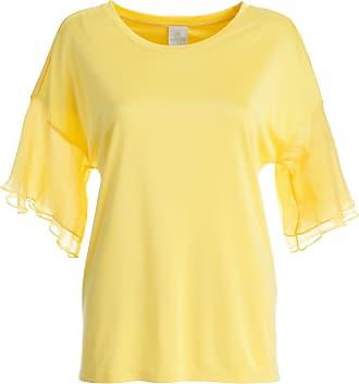 Madeleine Elegantes Shirt in gelb MADELEINE Gr 34 für Damen. Seide. Waschbar