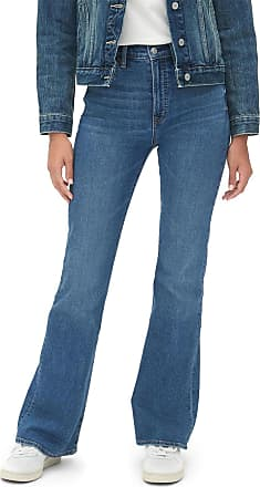 GAP Calça Jeans GAP Flare Estonada Azul