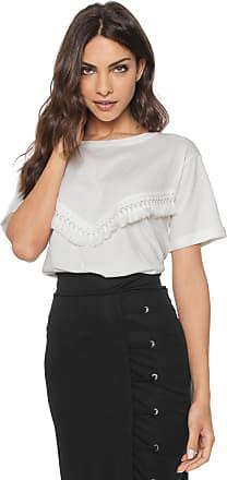Vero Moda Blusa Vero Moda Bordada Off-white