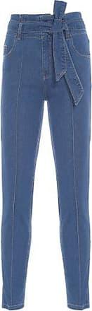 Vi And Co Calça Jeans Clochard Vi And Co. - Azul