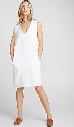 Contemporaine Minimalist pure linen dress
