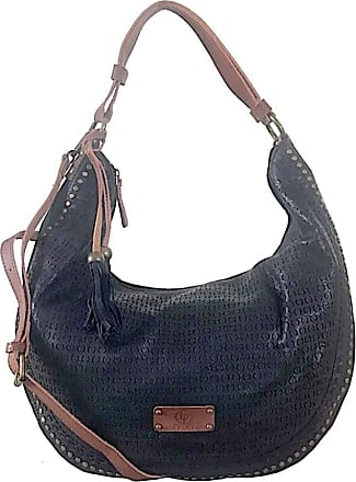 Its! BOLSA HOBO REBITES LATERAL PRETO