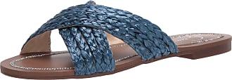 Jessica Simpson Womens Elaney Flat Sandal, Summer Blue, 6.5 UK