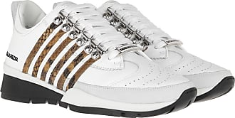 Dsquared2 Sneakers - Sneakers Leather White/Natural - white - Sneakers for ladies