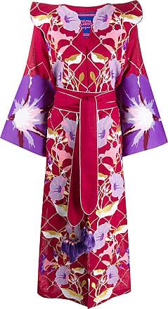 Yuliya Magdych Flower bell dress - Red